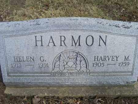HARMON, HELEN G. - Hocking County, Ohio | HELEN G. HARMON - Ohio Gravestone Photos