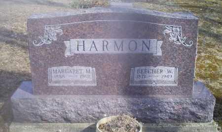 HARMON, MARGARET M. - Hocking County, Ohio | MARGARET M. HARMON - Ohio Gravestone Photos