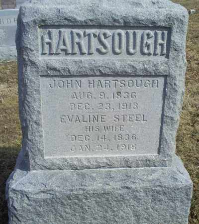 HARTSOUGH, JOHN - Hocking County, Ohio | JOHN HARTSOUGH - Ohio Gravestone Photos