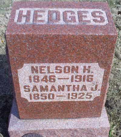 HEDGES, NELSON H. - Hocking County, Ohio | NELSON H. HEDGES - Ohio Gravestone Photos