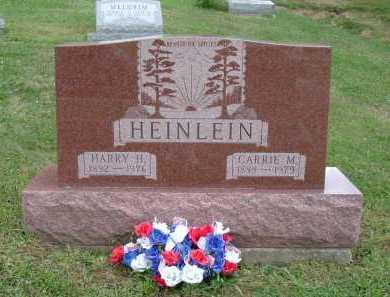ALLEN HEINLEIN, CARRIE M. - Hocking County, Ohio | CARRIE M. ALLEN HEINLEIN - Ohio Gravestone Photos