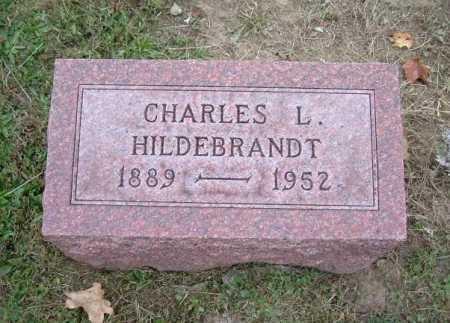 HILDEBRANDT, CHARLES L. - Hocking County, Ohio   CHARLES L. HILDEBRANDT - Ohio Gravestone Photos