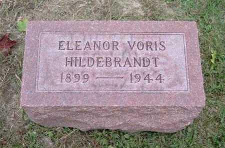 VORIS HILDEBRANDT, ELEANOR - Hocking County, Ohio | ELEANOR VORIS HILDEBRANDT - Ohio Gravestone Photos