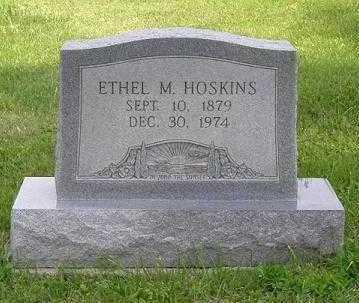 HOSKINS, ETHEL MAY - Hocking County, Ohio   ETHEL MAY HOSKINS - Ohio Gravestone Photos