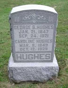 HUGHES, GEORGE B. - Hocking County, Ohio | GEORGE B. HUGHES - Ohio Gravestone Photos