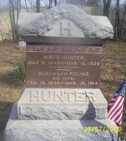 POLING HUNTER, SUSANNAH - Hocking County, Ohio | SUSANNAH POLING HUNTER - Ohio Gravestone Photos