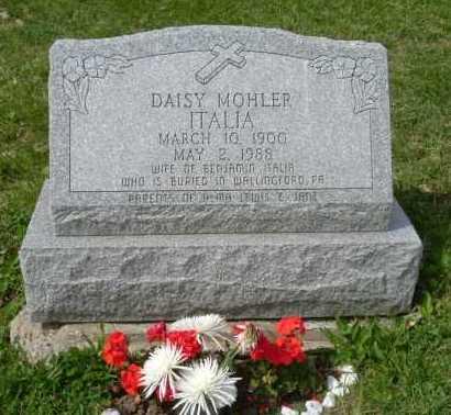 MOHLER ITALIA, DAISY VIOLA - Hocking County, Ohio | DAISY VIOLA MOHLER ITALIA - Ohio Gravestone Photos