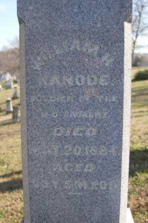 KANODE, WILLIAM H - Hocking County, Ohio   WILLIAM H KANODE - Ohio Gravestone Photos