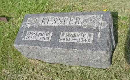 KESSLER, MARY C. - Hocking County, Ohio | MARY C. KESSLER - Ohio Gravestone Photos