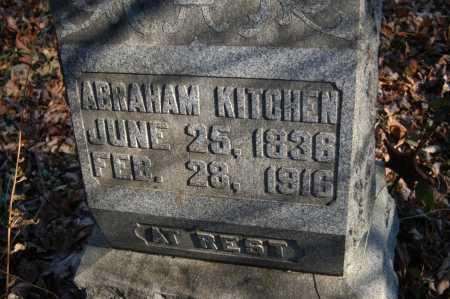 KITCHEN, ABRAHAM - Hocking County, Ohio | ABRAHAM KITCHEN - Ohio Gravestone Photos