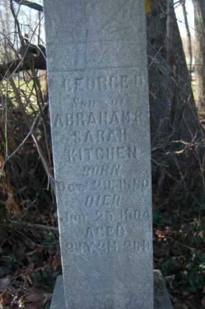 KITCHEN, GEORGE M. - Hocking County, Ohio   GEORGE M. KITCHEN - Ohio Gravestone Photos