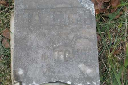 KITCHEN, HANNAH - Hocking County, Ohio | HANNAH KITCHEN - Ohio Gravestone Photos