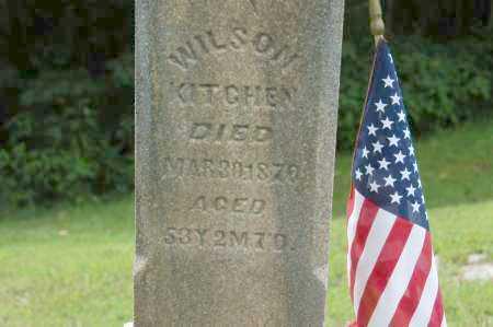 KITCHEN, WILSON - Hocking County, Ohio   WILSON KITCHEN - Ohio Gravestone Photos