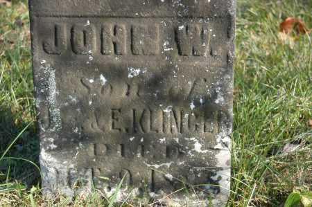 KLINGER, JOHN W - Hocking County, Ohio   JOHN W KLINGER - Ohio Gravestone Photos