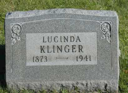 KLINGER, LUCINDA - Hocking County, Ohio | LUCINDA KLINGER - Ohio Gravestone Photos