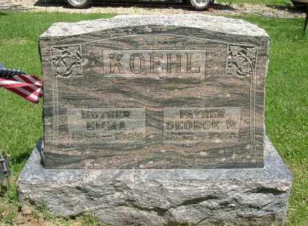 KOEHL, GEORGE W. - Hocking County, Ohio   GEORGE W. KOEHL - Ohio Gravestone Photos