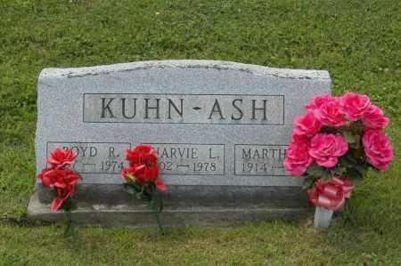 KUHN, MARTHA - Hocking County, Ohio | MARTHA KUHN - Ohio Gravestone Photos