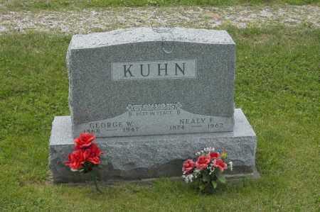 KUHN, GEORGE W. - Hocking County, Ohio | GEORGE W. KUHN - Ohio Gravestone Photos