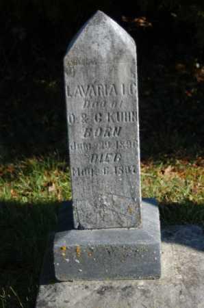 KUHN, LAVARIA - Hocking County, Ohio | LAVARIA KUHN - Ohio Gravestone Photos