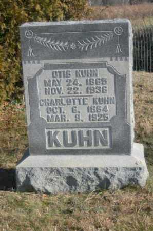 KUHN, CHARLOTTE - Hocking County, Ohio | CHARLOTTE KUHN - Ohio Gravestone Photos