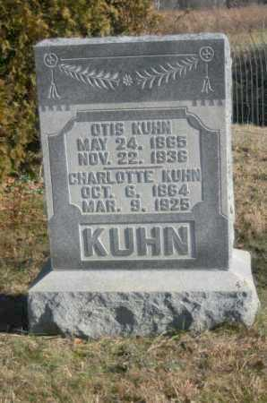KUHN, OTIS LEANDER - Hocking County, Ohio | OTIS LEANDER KUHN - Ohio Gravestone Photos