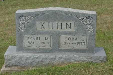 KUHN, CORA E. - Hocking County, Ohio | CORA E. KUHN - Ohio Gravestone Photos