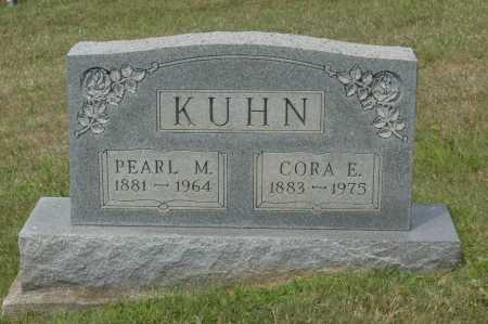 KUHN, CORA E. - Hocking County, Ohio | CORA E. KUHN - Ohio Gravestone Photos