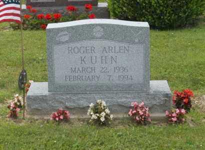 KUHN, ROGER ARLEN - Hocking County, Ohio   ROGER ARLEN KUHN - Ohio Gravestone Photos