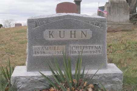 HARSH KUHN, CHRISTENA - Hocking County, Ohio | CHRISTENA HARSH KUHN - Ohio Gravestone Photos