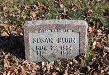 KUHN, SUSAN - Hocking County, Ohio   SUSAN KUHN - Ohio Gravestone Photos