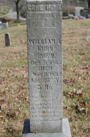 KUHN, WILLIAM L. - Hocking County, Ohio | WILLIAM L. KUHN - Ohio Gravestone Photos
