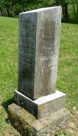 KULL, MARY - Hocking County, Ohio | MARY KULL - Ohio Gravestone Photos