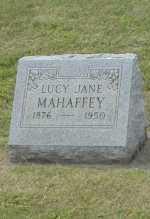 MAHAFFEY, LUCY JANE - Hocking County, Ohio   LUCY JANE MAHAFFEY - Ohio Gravestone Photos