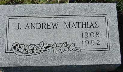 MATHIAS, J. ANDREW - Hocking County, Ohio | J. ANDREW MATHIAS - Ohio Gravestone Photos