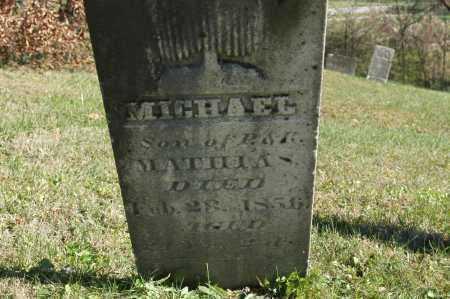 MATHIAS, MICHAEL - Hocking County, Ohio | MICHAEL MATHIAS - Ohio Gravestone Photos