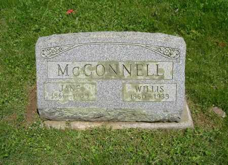 MCCONNELL, WILLIS - Hocking County, Ohio | WILLIS MCCONNELL - Ohio Gravestone Photos