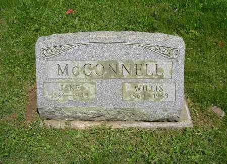 MCCONNELL, WILLIS - Hocking County, Ohio | WILLIS MCCONNELL - Ohio Gravestone Photos