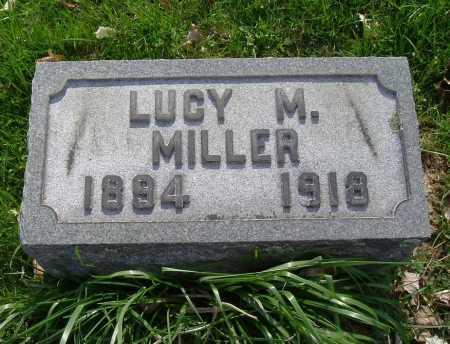 MILLER, LUCY M. - Hocking County, Ohio | LUCY M. MILLER - Ohio Gravestone Photos