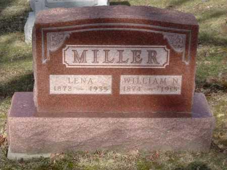 MILLER, WILLIAM N. - Hocking County, Ohio | WILLIAM N. MILLER - Ohio Gravestone Photos