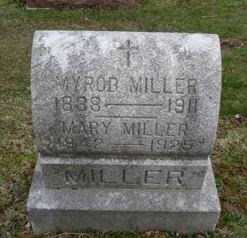 MILLER, MARY - Hocking County, Ohio | MARY MILLER - Ohio Gravestone Photos