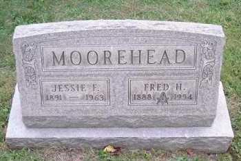 MOOREHEAD, FRED H. - Hocking County, Ohio   FRED H. MOOREHEAD - Ohio Gravestone Photos