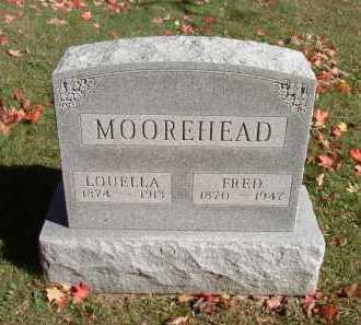 MOOREHEAD, LOUELLA - Hocking County, Ohio | LOUELLA MOOREHEAD - Ohio Gravestone Photos