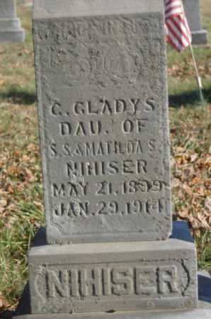 NIHISER, C. GLADYS - Hocking County, Ohio | C. GLADYS NIHISER - Ohio Gravestone Photos