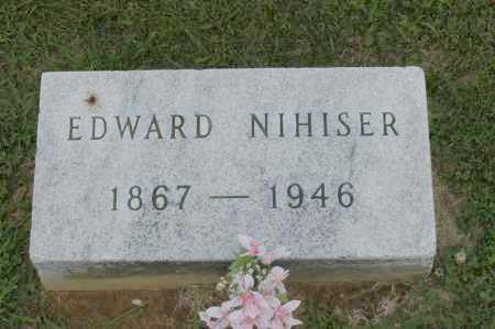 NIHISER, EDWARD - Hocking County, Ohio | EDWARD NIHISER - Ohio Gravestone Photos