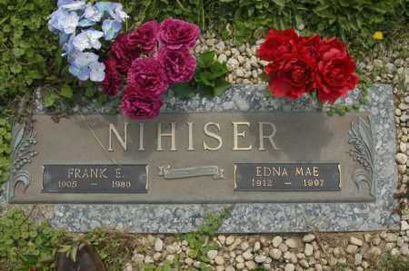 NIHISER, FRANK E - Hocking County, Ohio | FRANK E NIHISER - Ohio Gravestone Photos