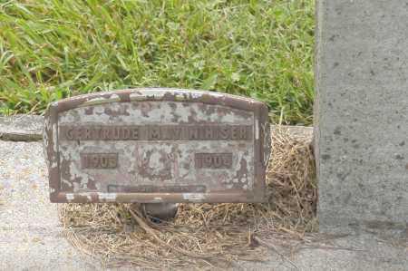 NIHISER, GERTRUDE MAY - Hocking County, Ohio | GERTRUDE MAY NIHISER - Ohio Gravestone Photos