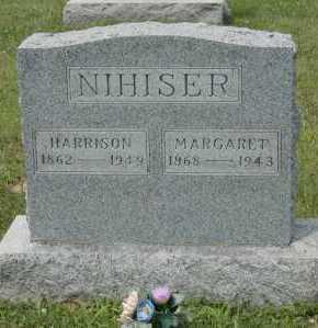 NIHISER, HARRISON - Hocking County, Ohio   HARRISON NIHISER - Ohio Gravestone Photos
