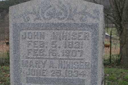 NIHISER, JOHN & MARY - Hocking County, Ohio   JOHN & MARY NIHISER - Ohio Gravestone Photos