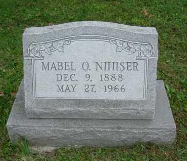 NIHISER, MABEL O. - Hocking County, Ohio | MABEL O. NIHISER - Ohio Gravestone Photos