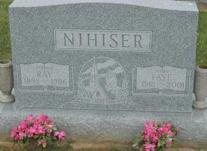 NIHISER, FAYE - Hocking County, Ohio | FAYE NIHISER - Ohio Gravestone Photos